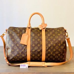 Louis Vuitton Keepall 45 Bandouliere Monogram
